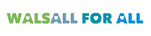 Walsall For All logo